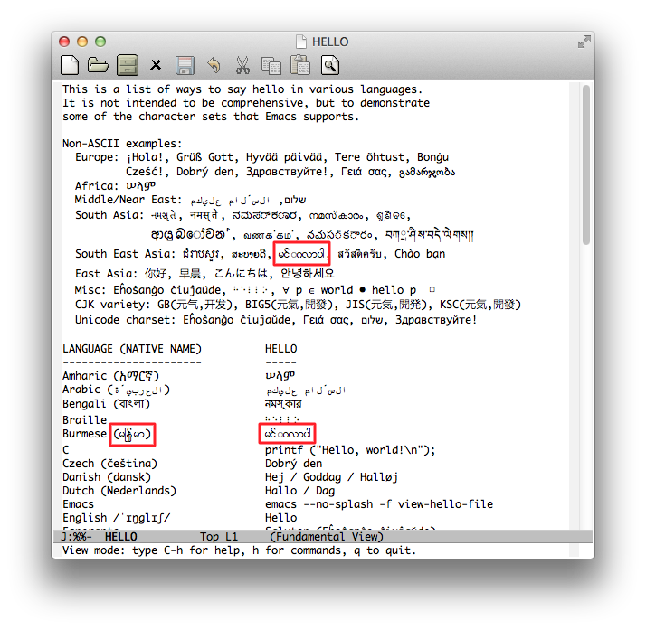 Emacs for Mac OSX